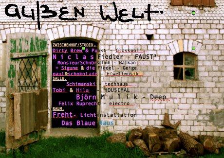 Teves - Aussen Welt - Numero Bruno - - - Flyer