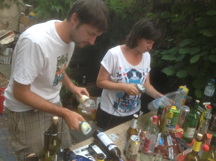 Musik aus registriertem Müll - die Barcode DJs machten es am Sonntag möglich!