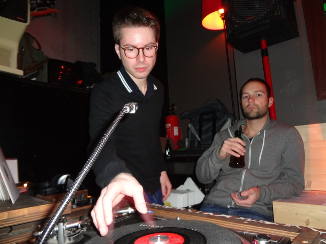 DJ Pure und Florian Lippmann