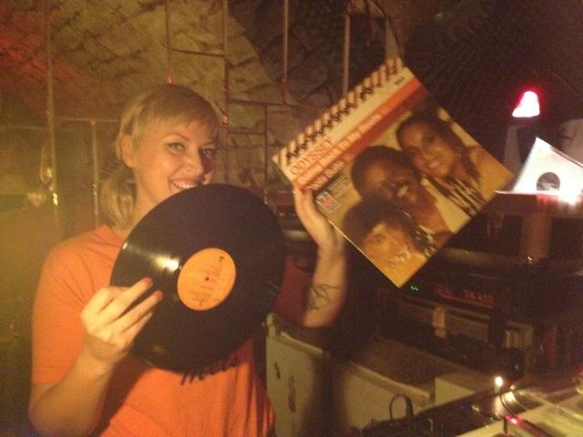 Smart aufgelegt: DJ Veruschka in der Sterebar
