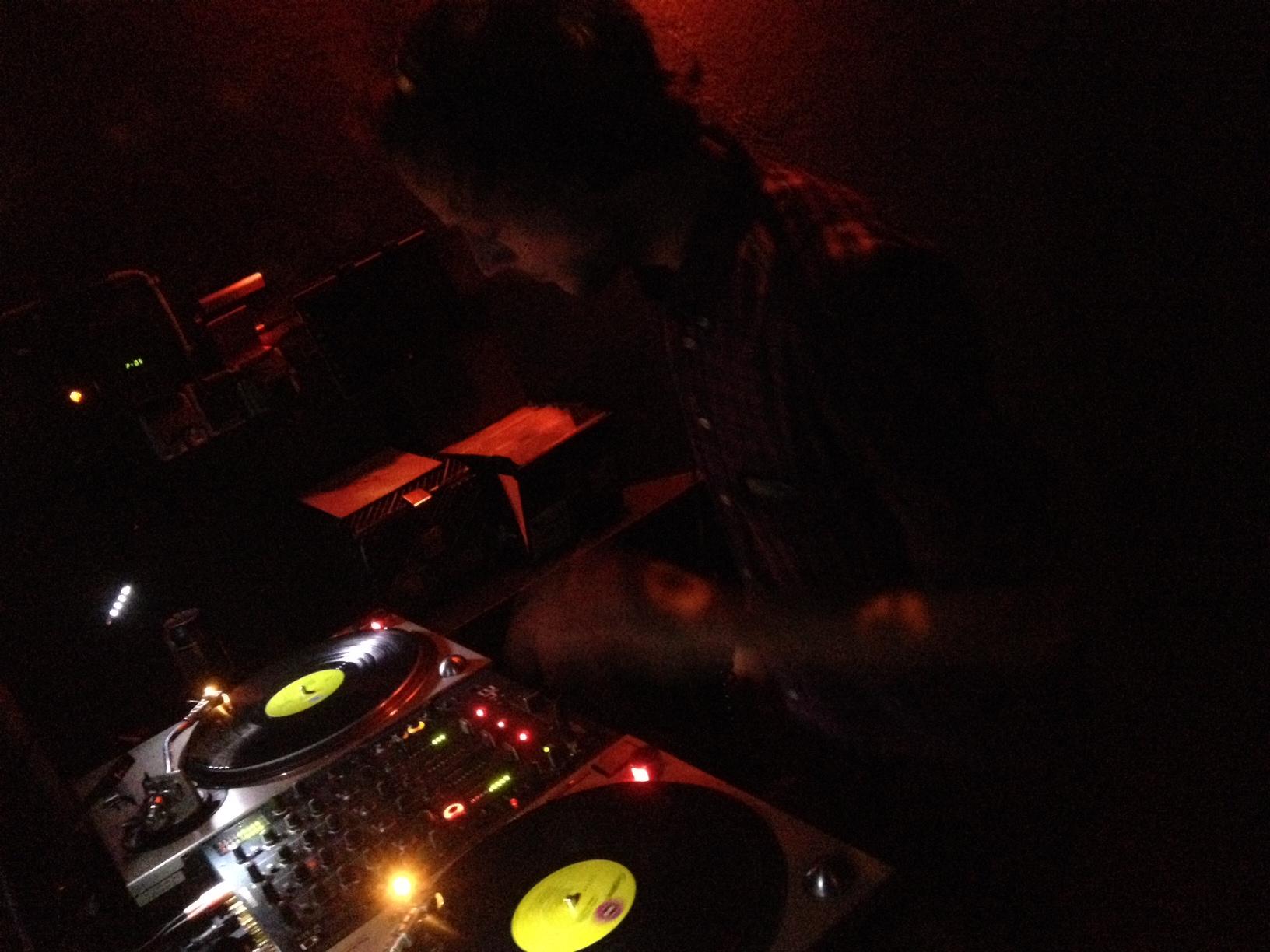 Besuch aus Ljubljana: DJ Woo-D im Tiefengrund