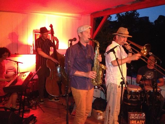 Get ready: Feiner Latin -  Jazz vom Hi-Fly Orchestra am Schwedlersee