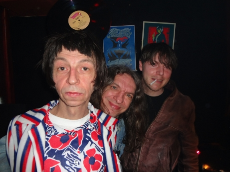 Legenden der Nacht: DJ Konrad, LightShowDirk und DJ Kleiner. So sehen Helden aus!
