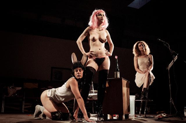 sex auf der bühne muschiwahl