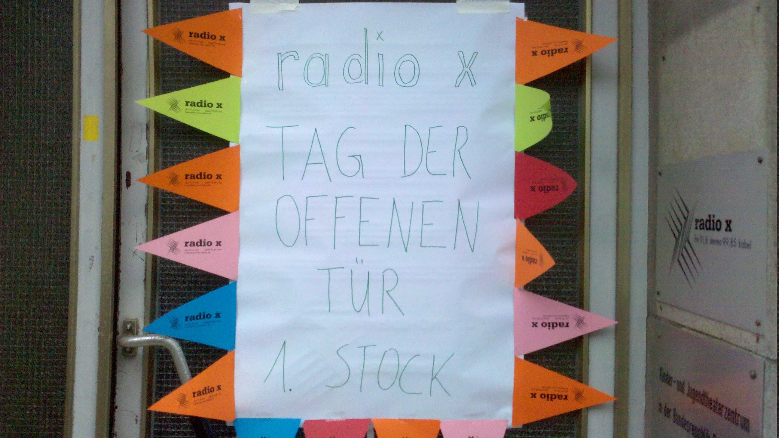 Radio X: Tag der offenen Tür