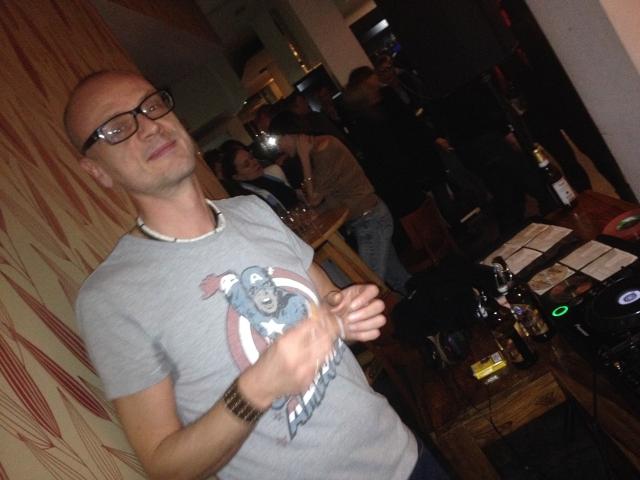 DJ Thomas Moschny - Premierenfeier im Schauspiel