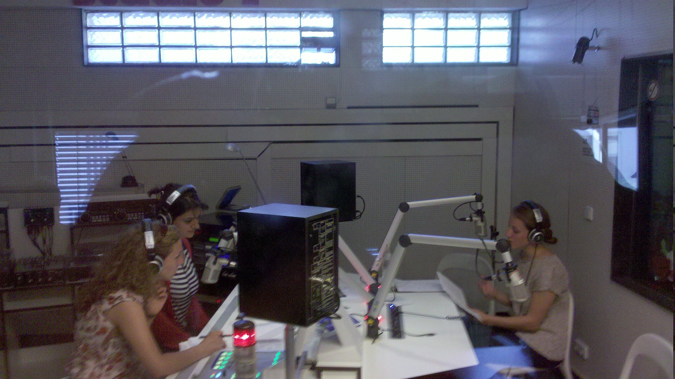 Die Redaktion von bühnenreif --- On Air!